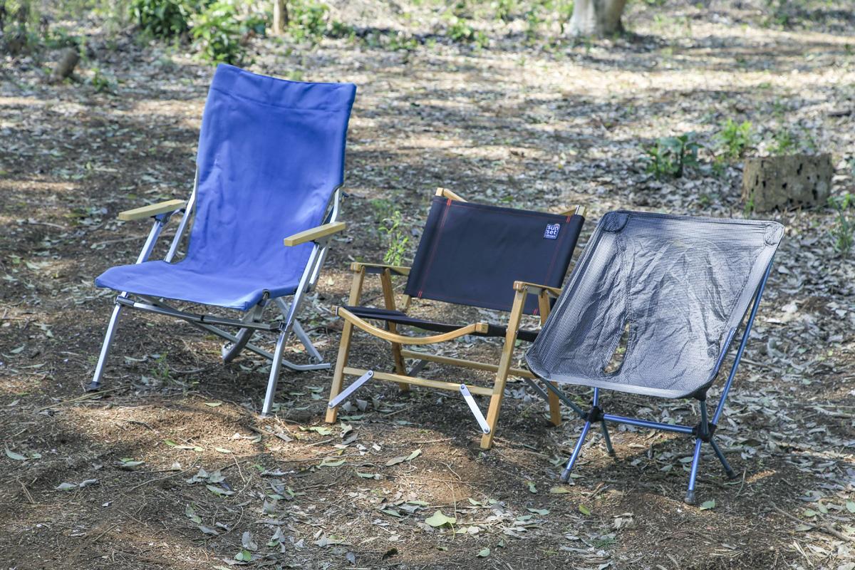 ソロキャンプ用チェアの選び方