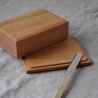 「バターケース 木製」を詳しく見る