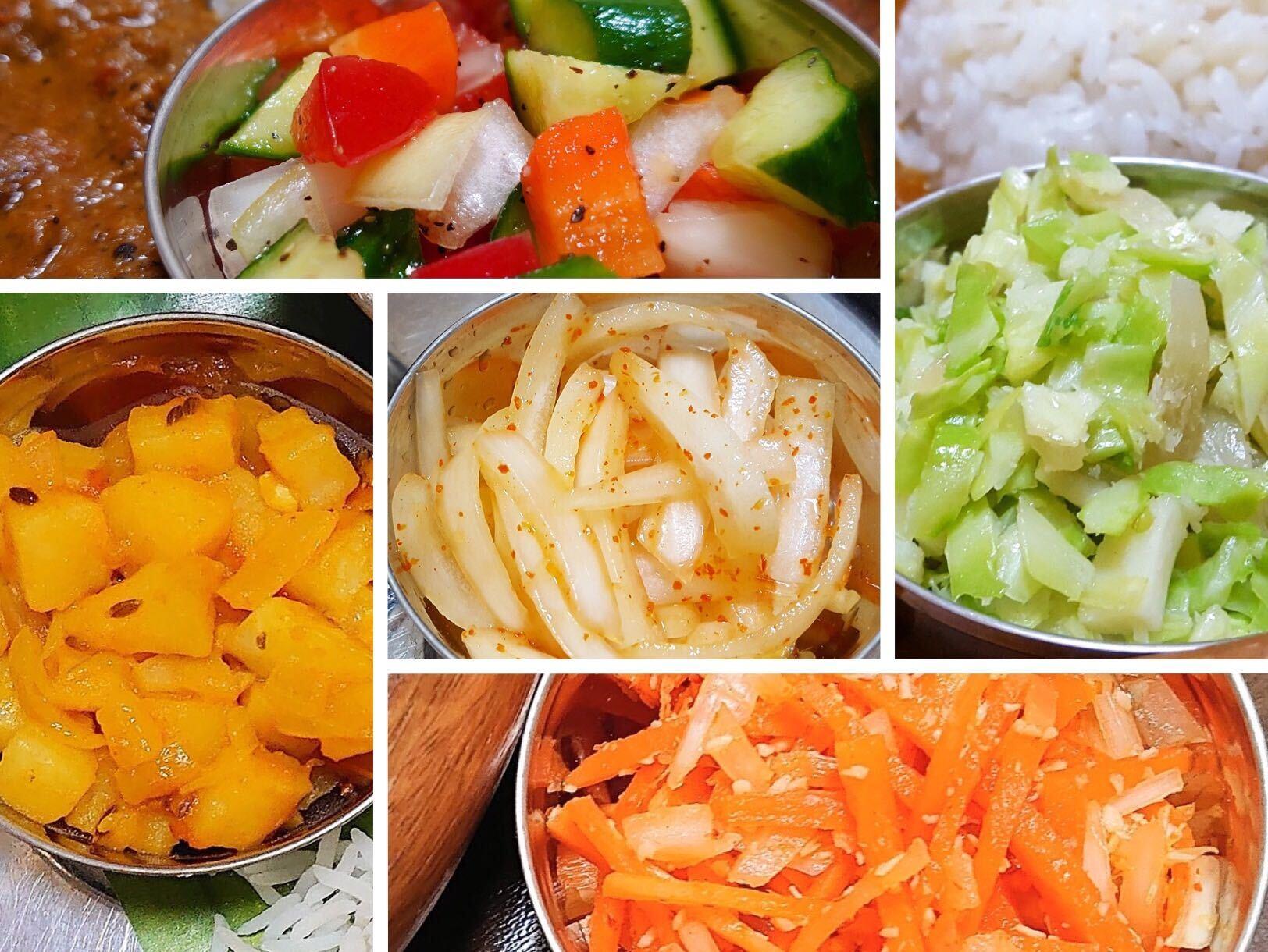 カレーの副菜はサラダだけじゃない! カレー沼の住人が超簡単に作れる本格カレー副菜レシピ5品を伝授