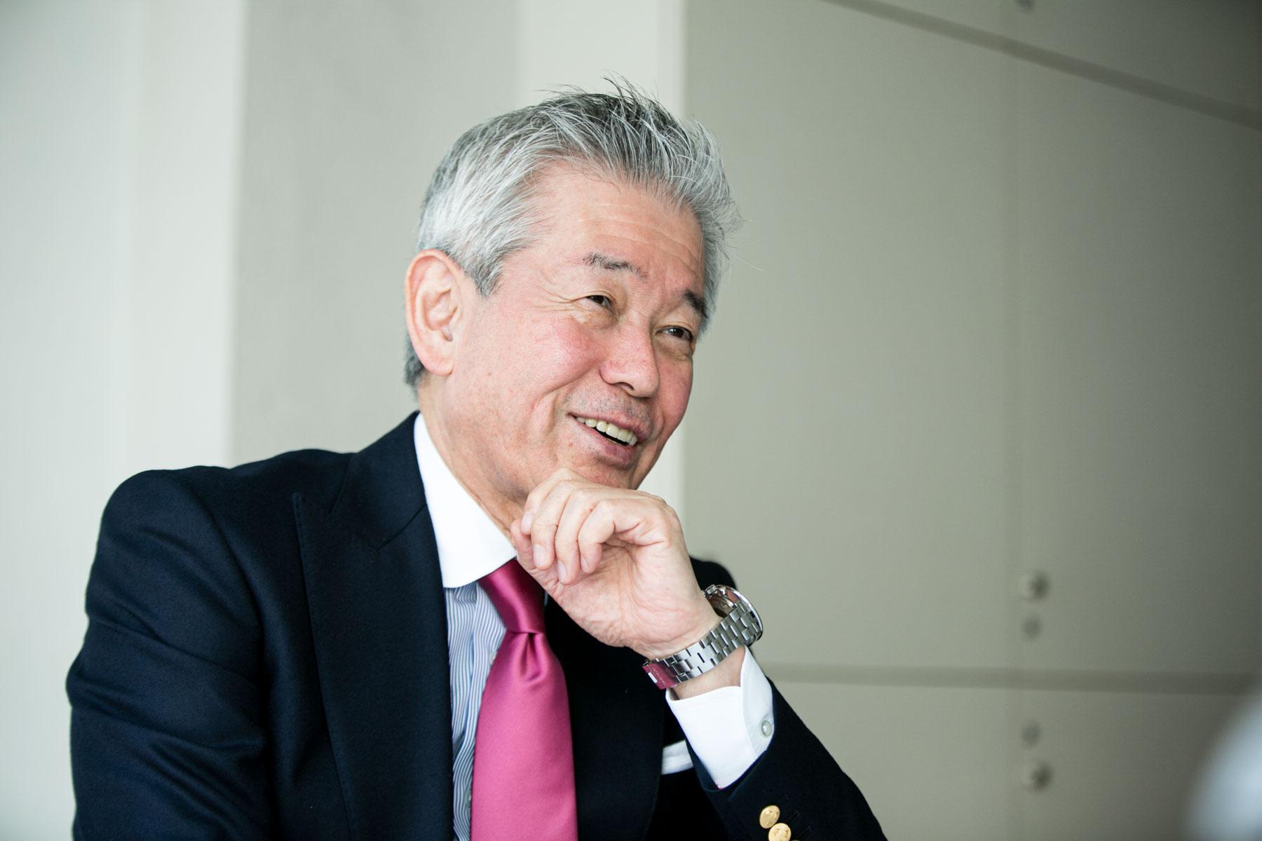 桜井博志さんプロフィールカット