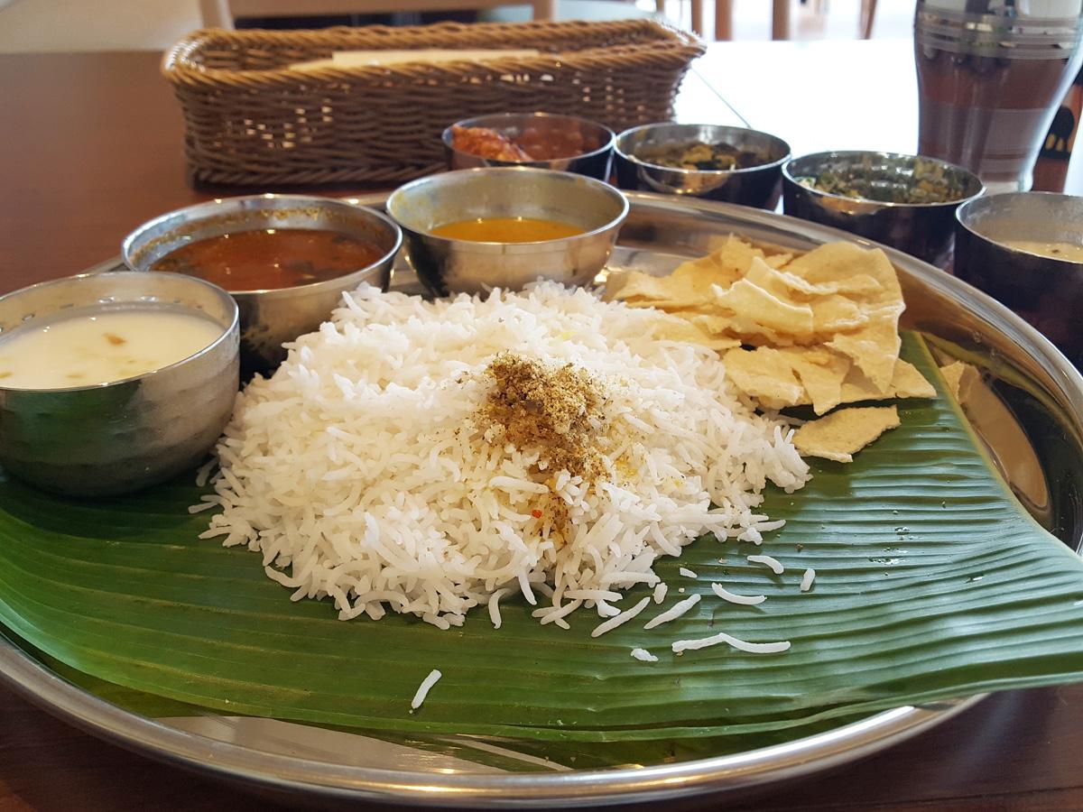 南インド料理の主食は米