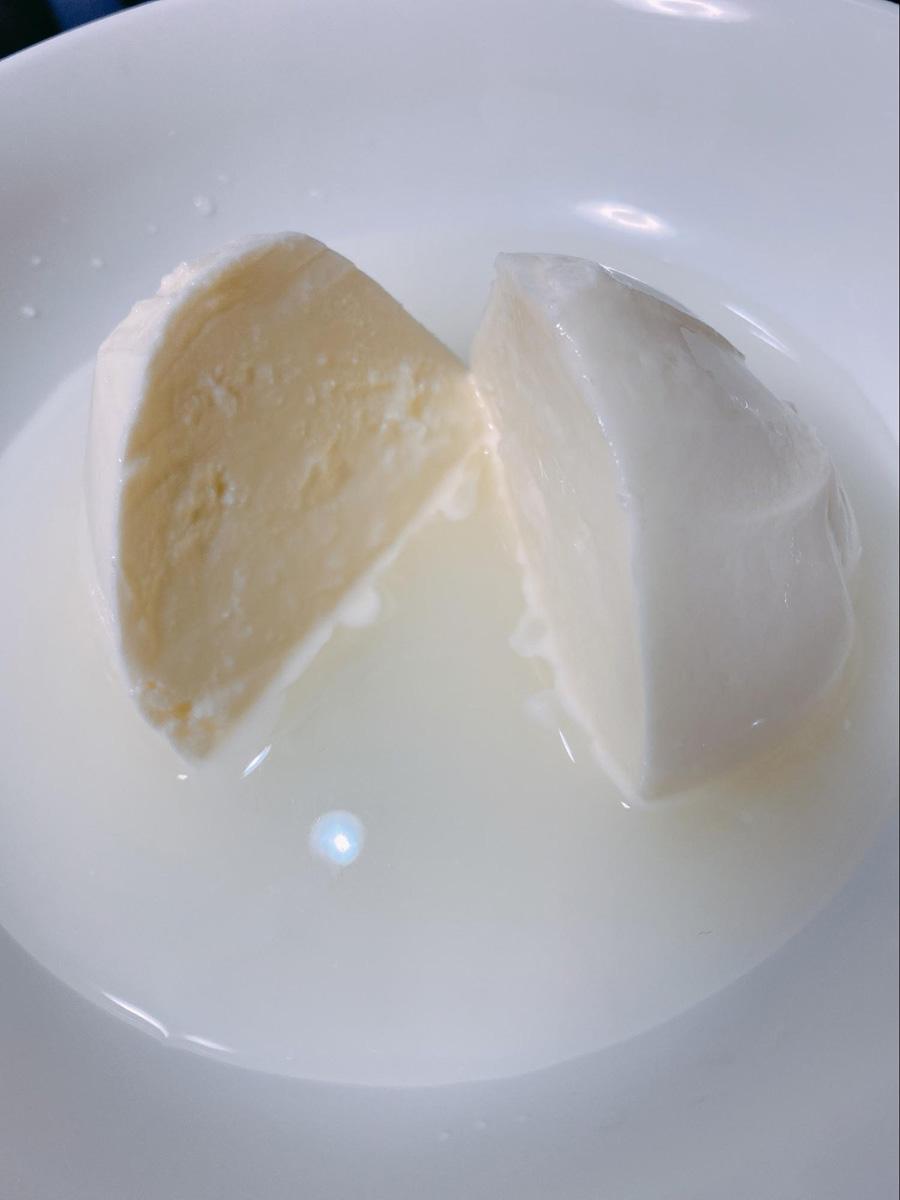白糠酪恵舎のモッツァレラチーズ