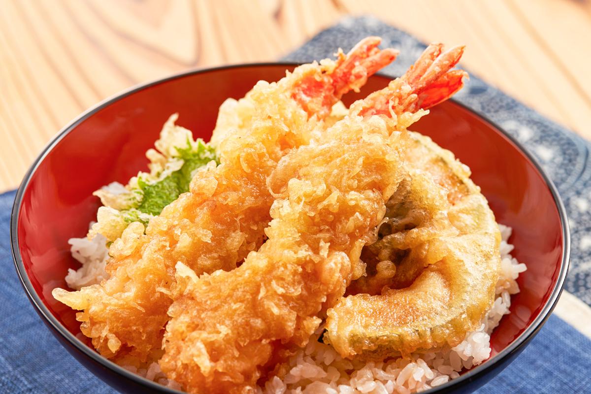 天丼に合う米は「つや姫」