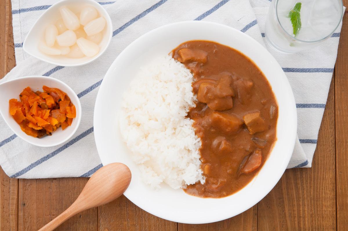 カレーライスに合う米は「雪若丸」