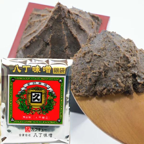 「カクキュー 国産大豆 八丁味噌 銀袋」を詳しく見る
