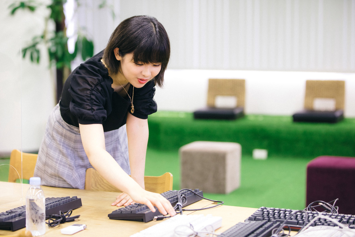 miriさんにたくさんキーボードを持ってきていただいた