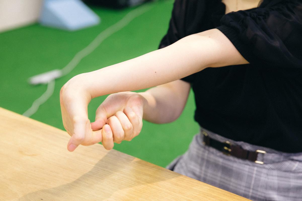 miriさんの手首が柔軟すぎる!