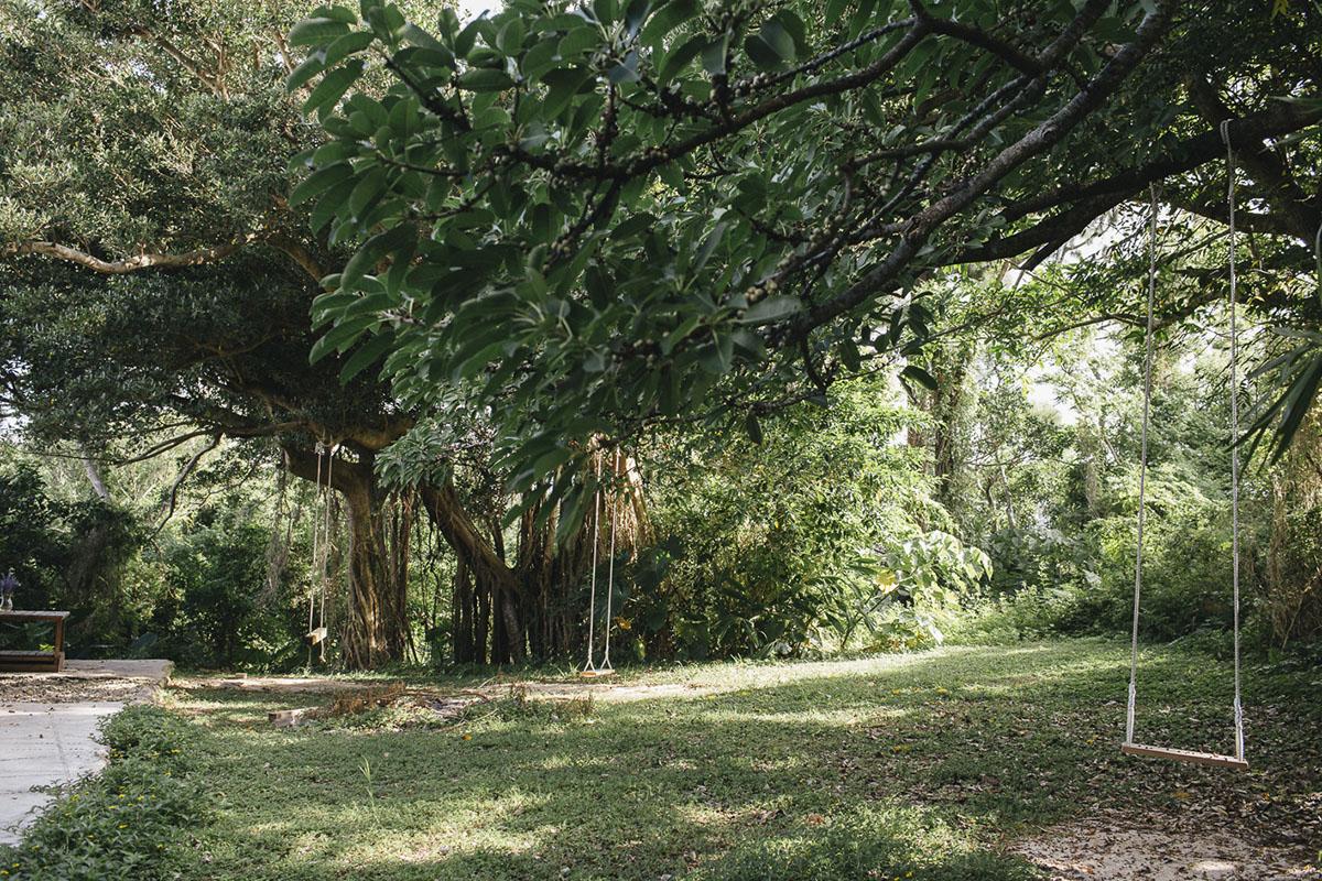 宗像堂のお庭