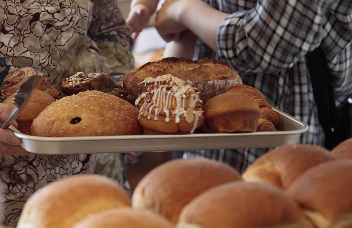 カネルブレットのパン