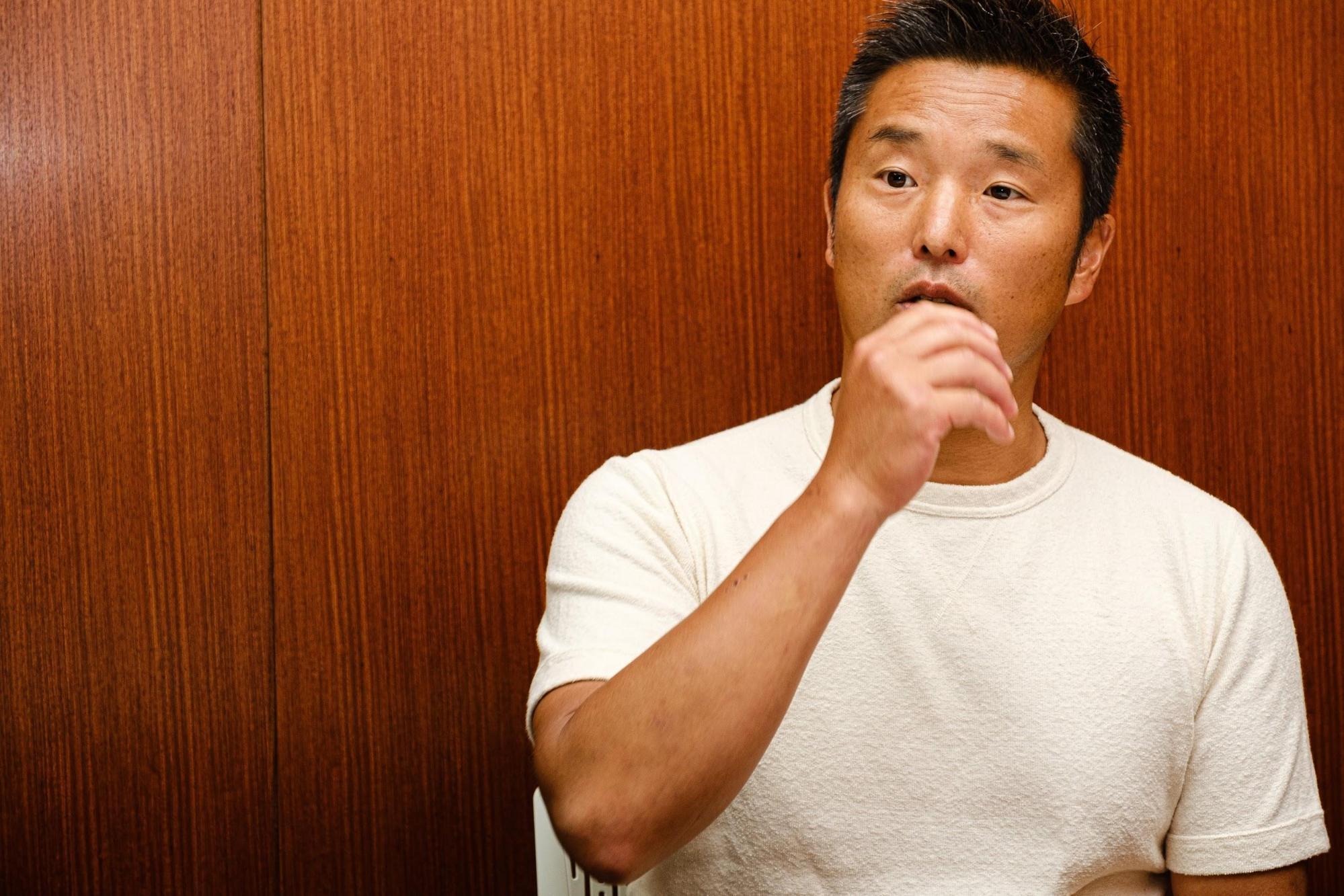 池田純さんの正面の写真