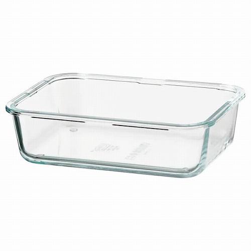 IKEA 365+ 保存容器 長方形 ガラス