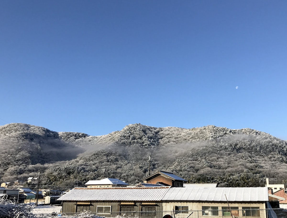 西脇市の雪景色の写真