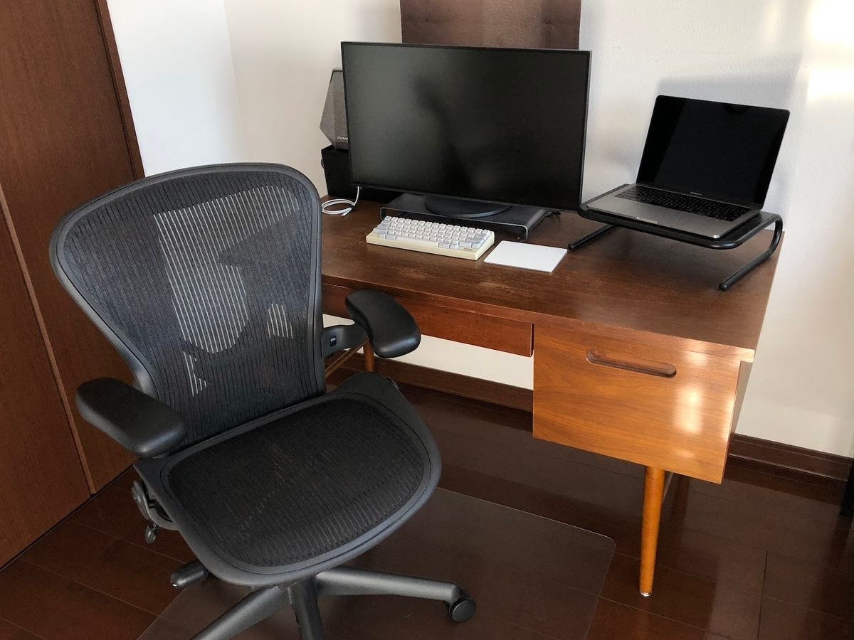自宅の仕事場