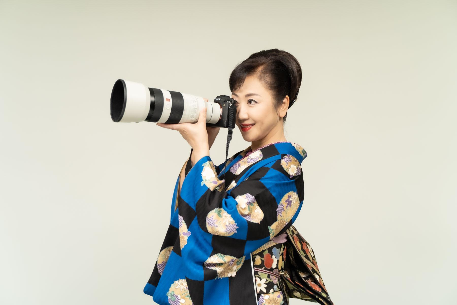 演歌歌手・伍代夏子さんのカメラ沼
