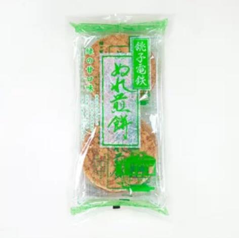 銚子電鉄 ぬれ煎餅