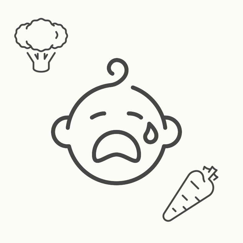 「離乳食」を食べない・食べ過ぎる悩み