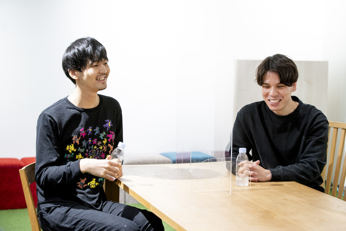 こす.くまさんのインタビュー写真2