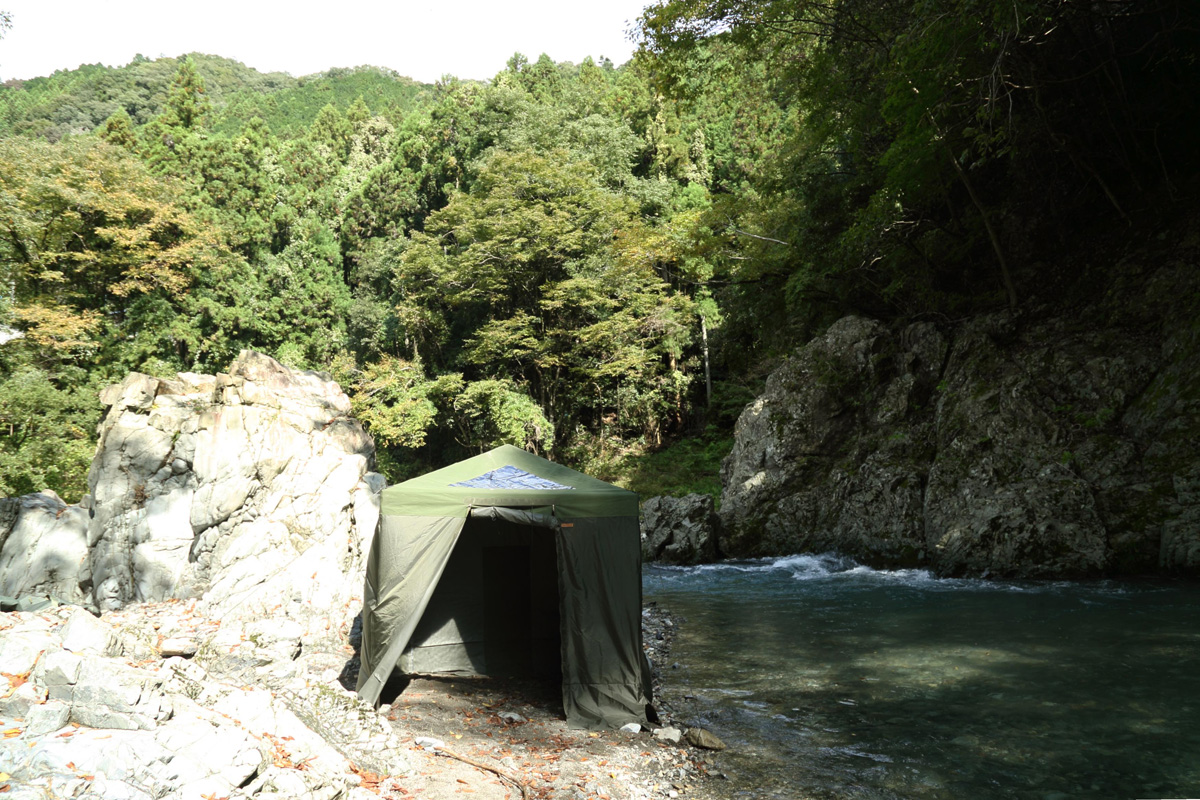 Savotta(サボッタ)のテントサウナ