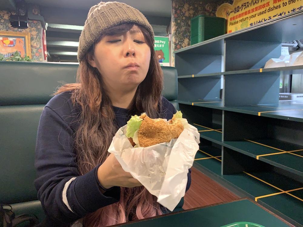 ラッキーピエロのチャイニーズチキンバーガー