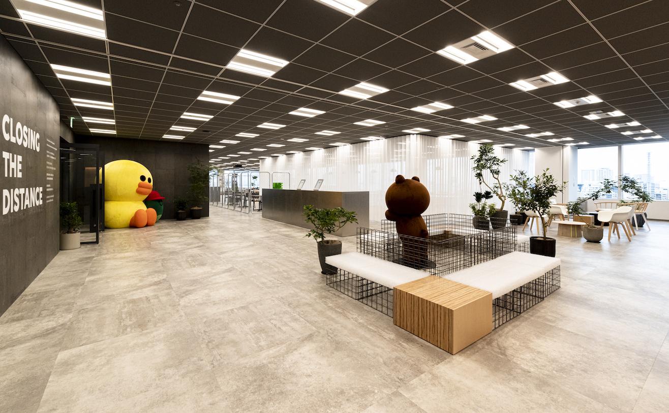 LINE南新宿オフィス