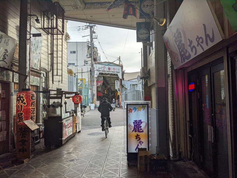 大阪の商店街写真