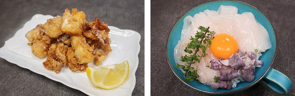 初心者でも簡単にできるイカのさばき方、イカを食べ尽くすレシピ