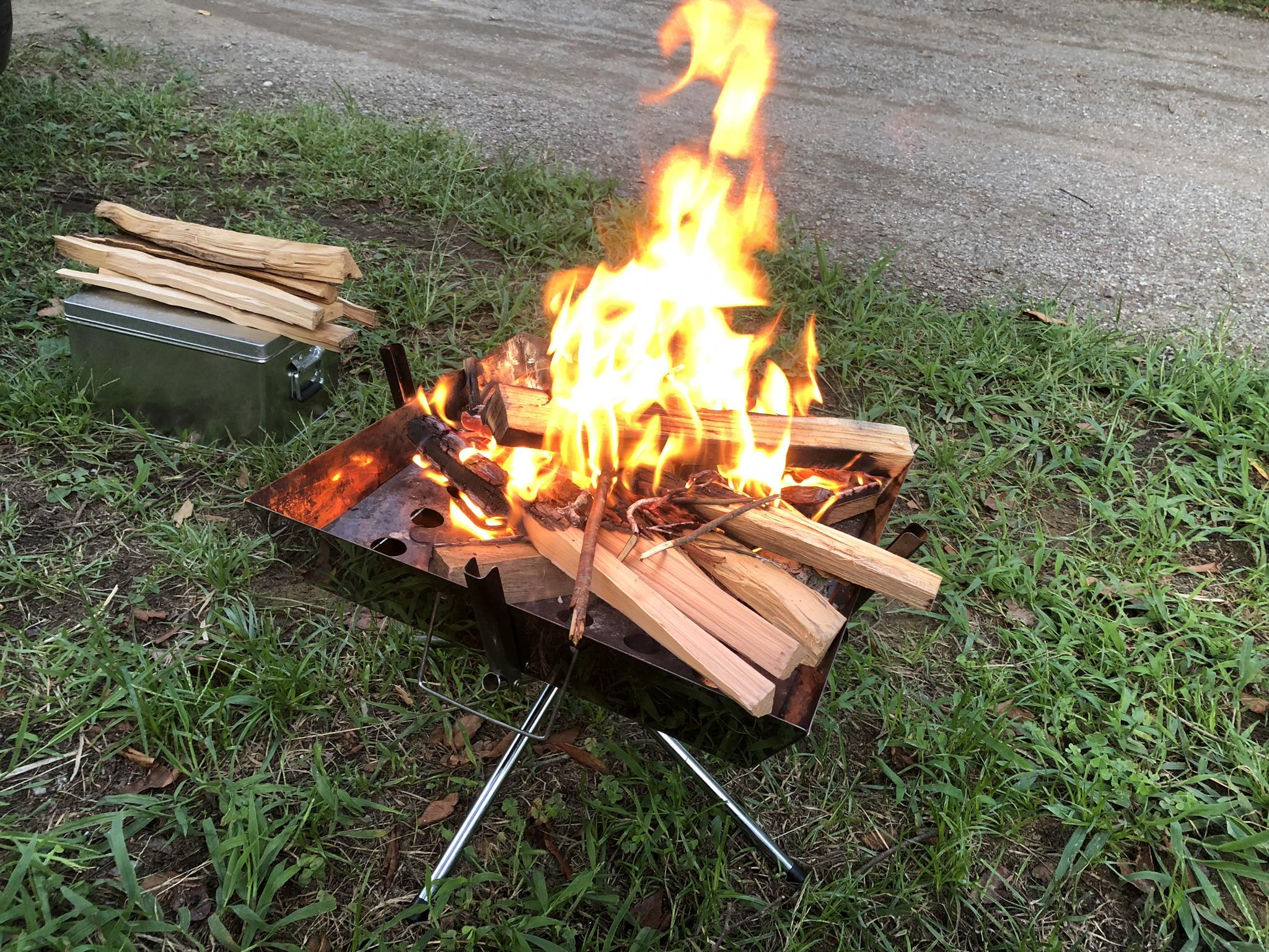 焚き火台ファイアグリル