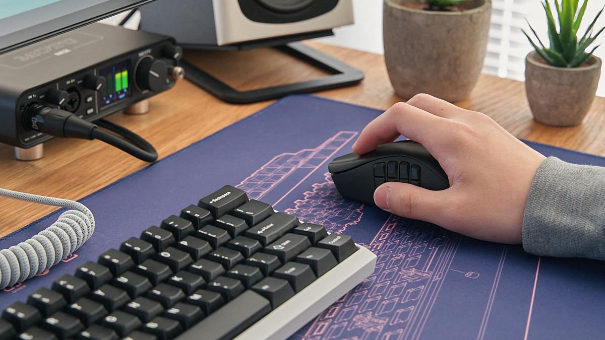 普段のPC作業を効率良くする、おすすめのゲーミングマウス