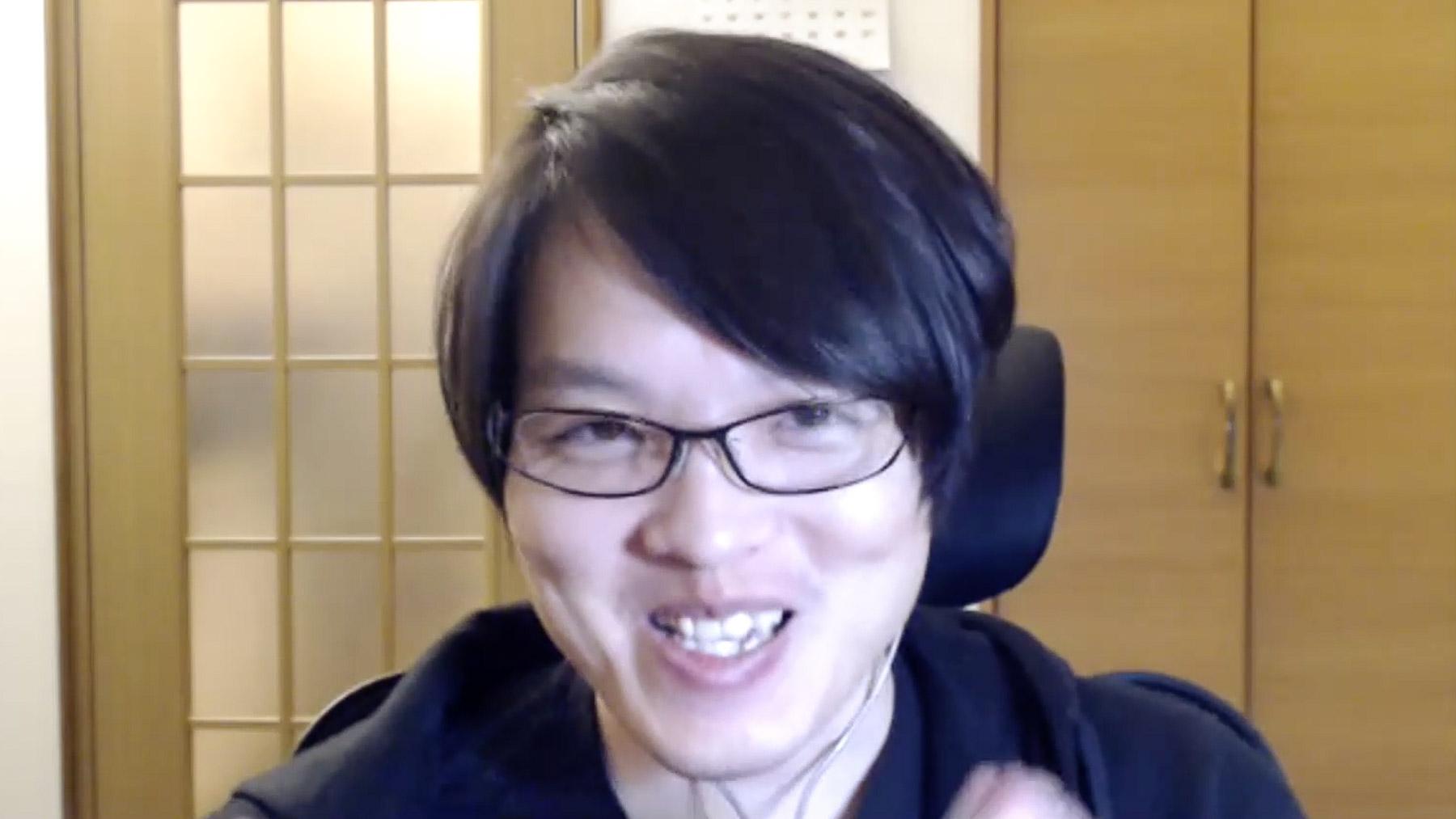 若林稔弥さんインタビューカット3