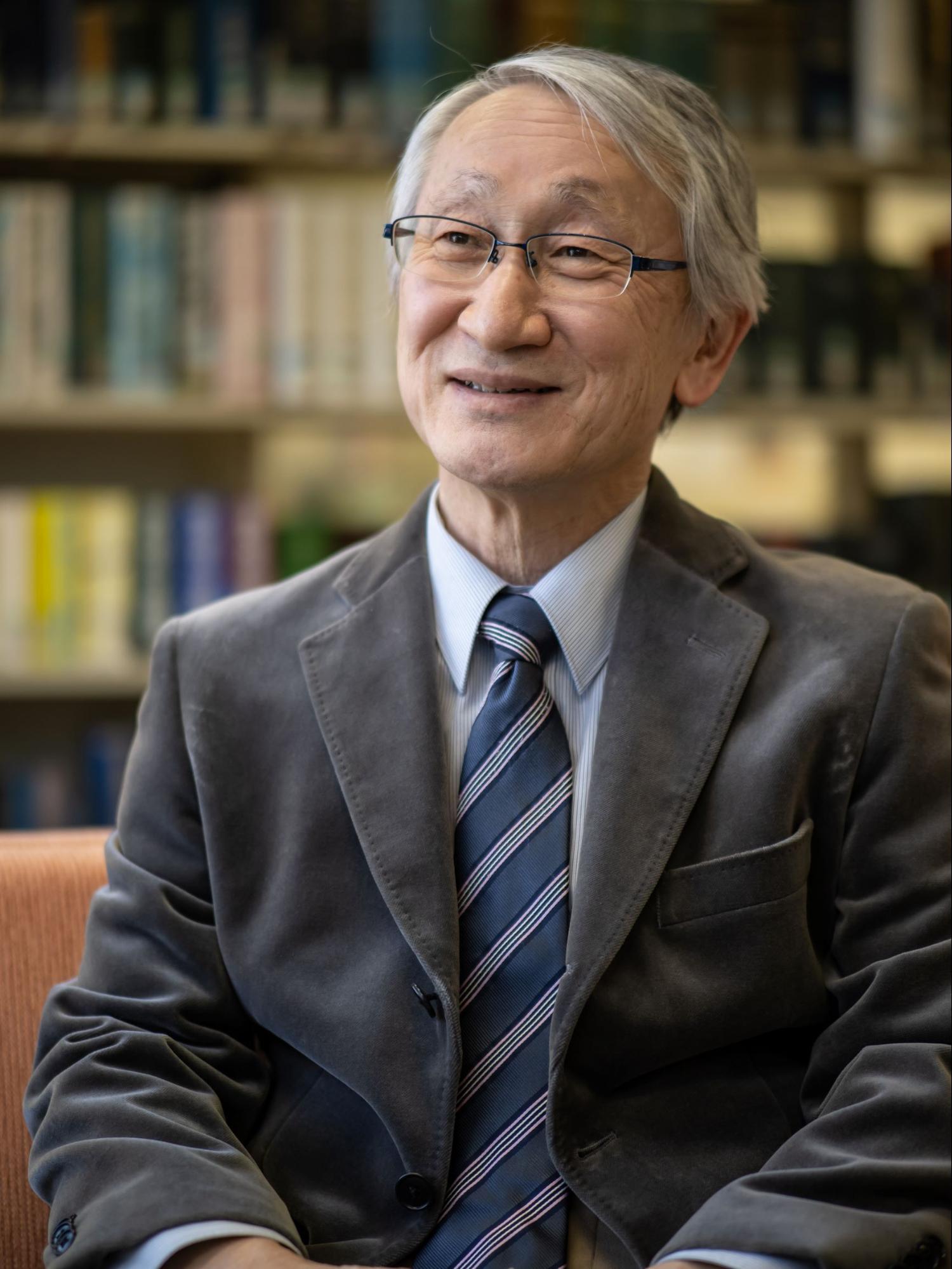 川口淳一郎さんインタビューカット
