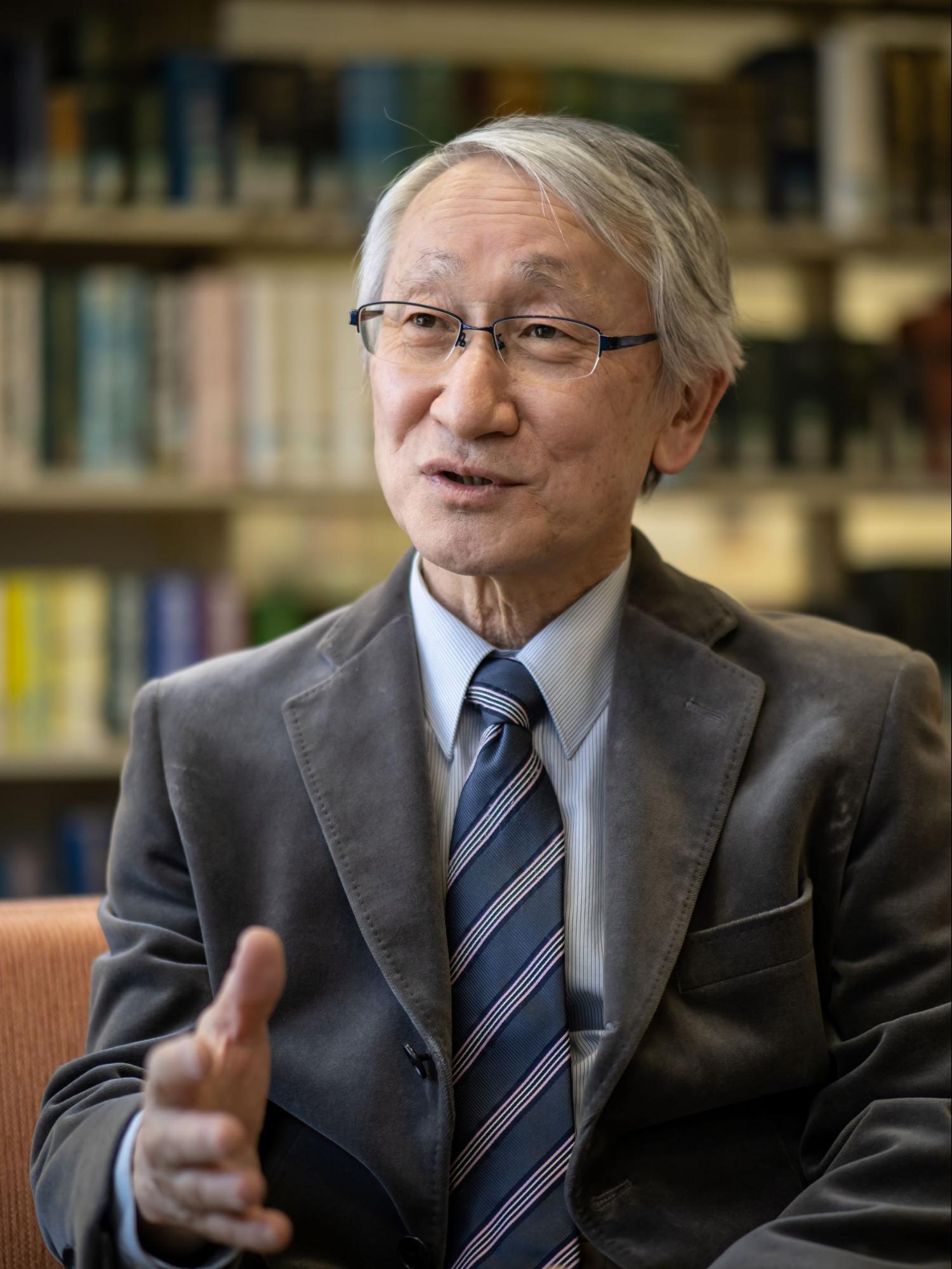 川口淳一郎さんのインタビューカット2