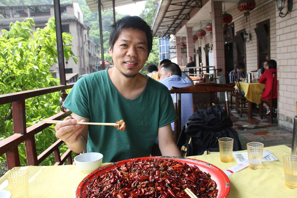 重慶の四川料理