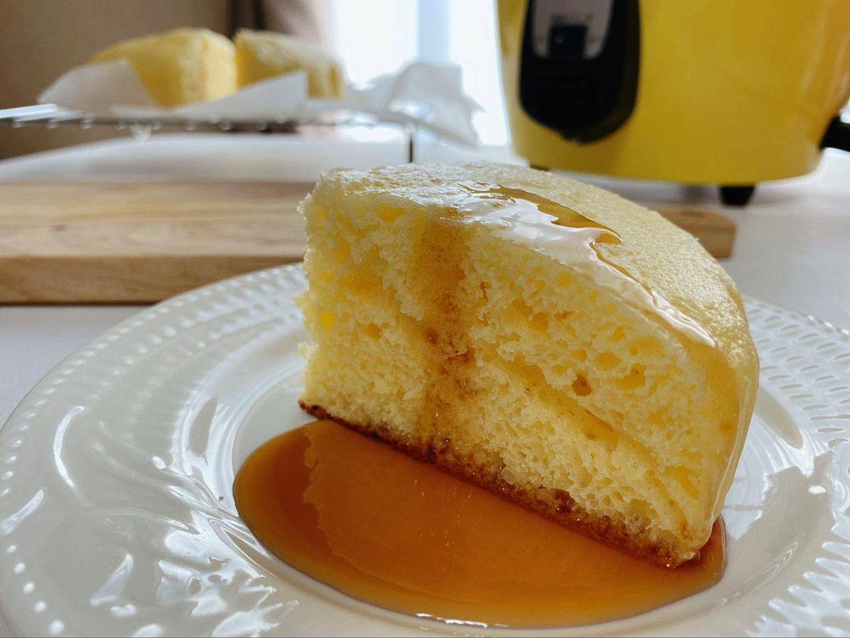 電鍋ホットケーキ