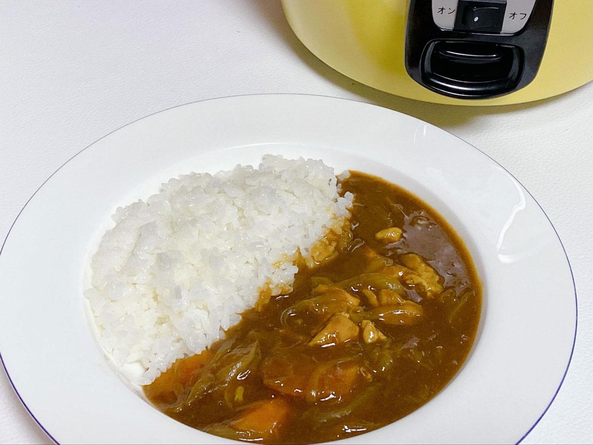 電鍋チキンカレー
