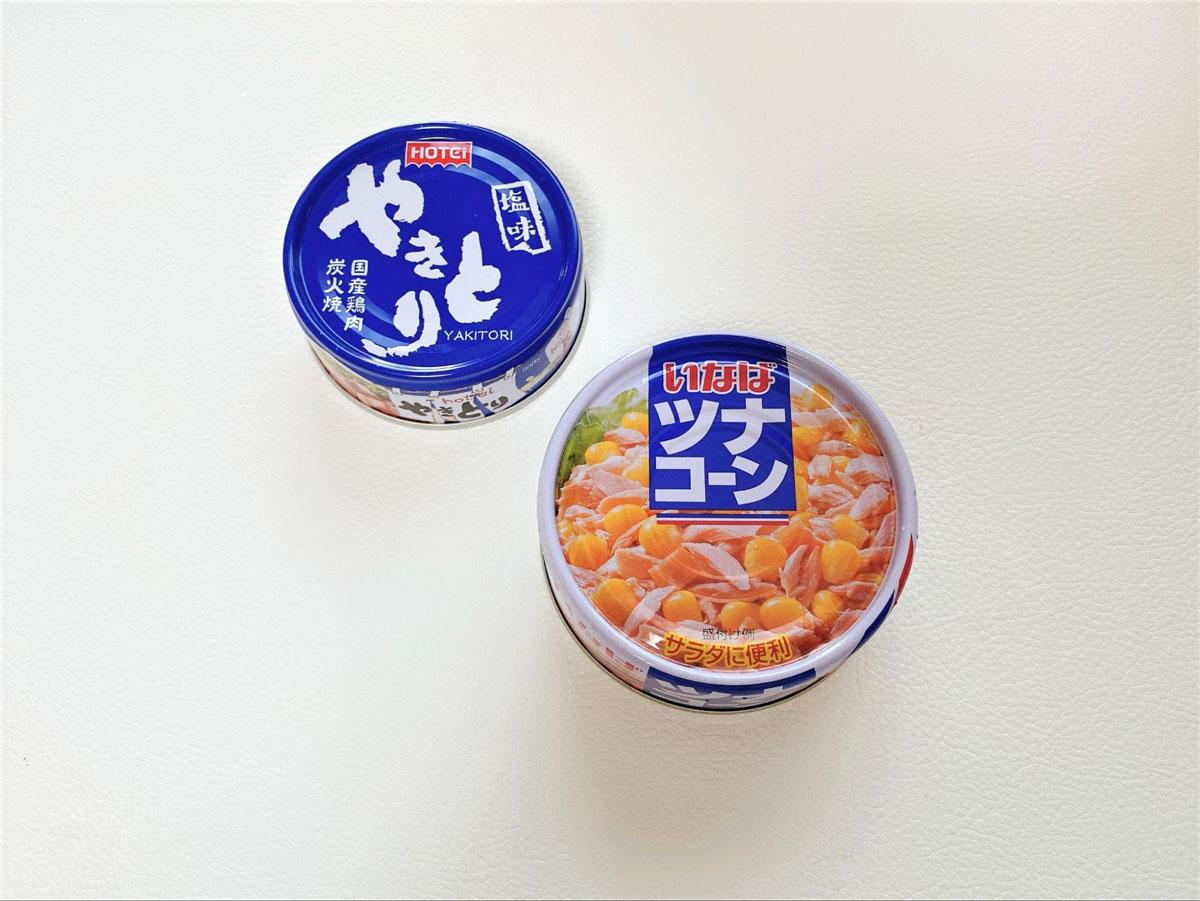 缶詰炊き込みご飯の材料
