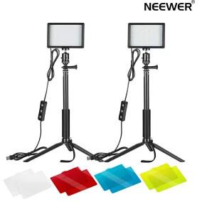 「Neewer 2パック USBビデオライト」を詳しく見る