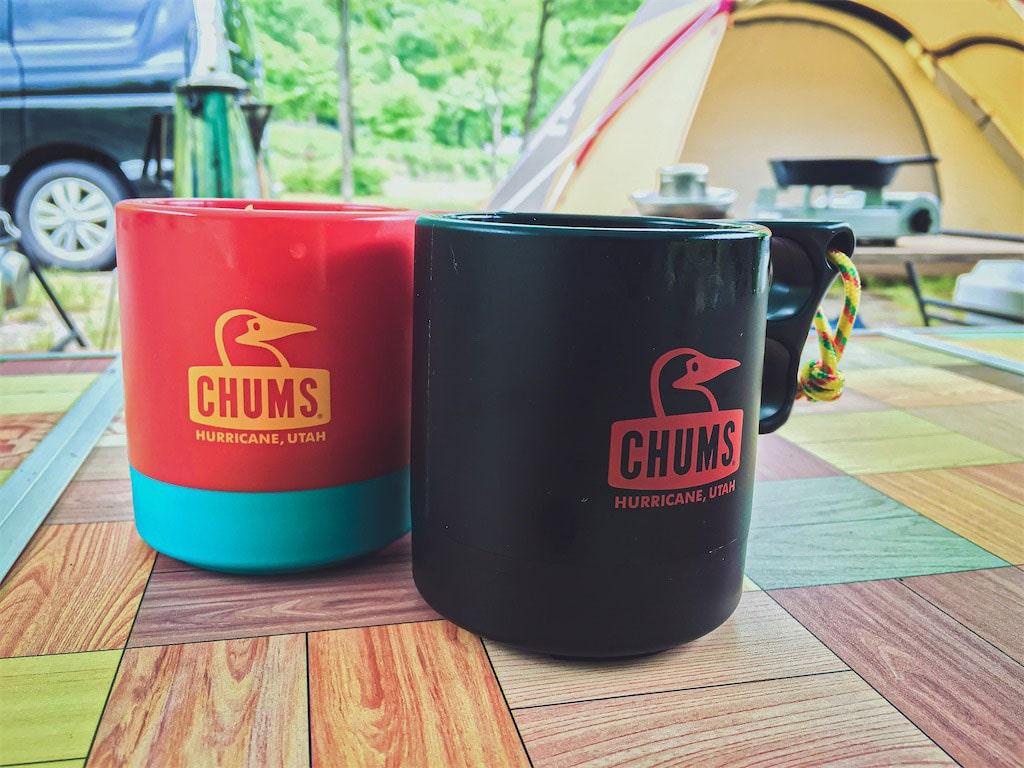 チャムス「キャンパーマグカップ」
