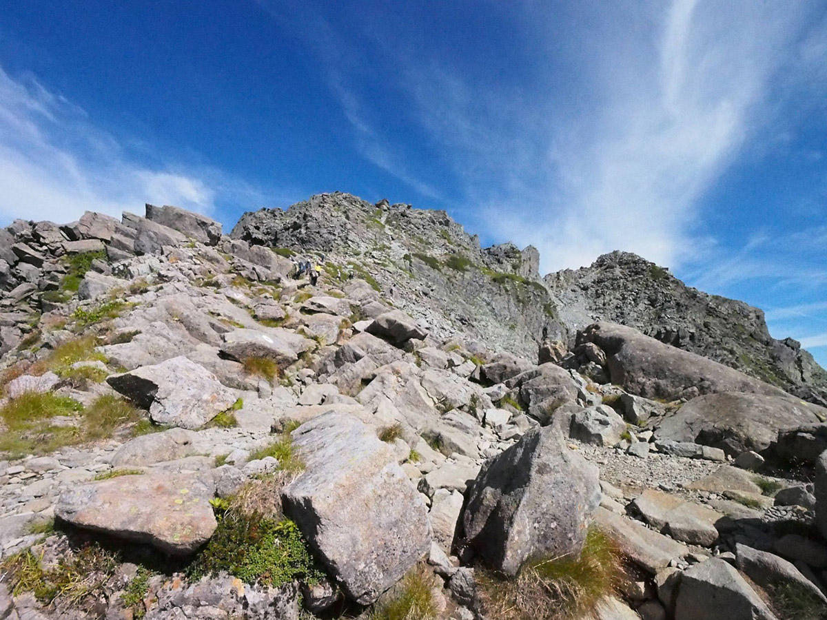 登山中の様子