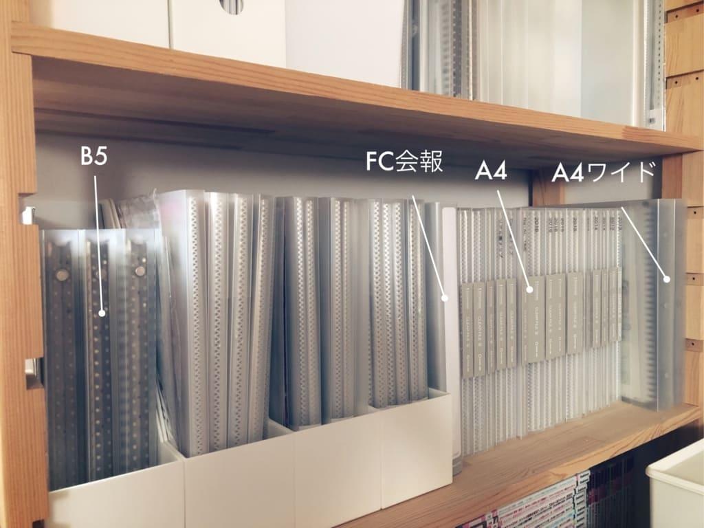 ジャニヲタ収納術・ファイルのサイズがそろっていると整然として見えるので、できるだけA4サイズのファイルに統一