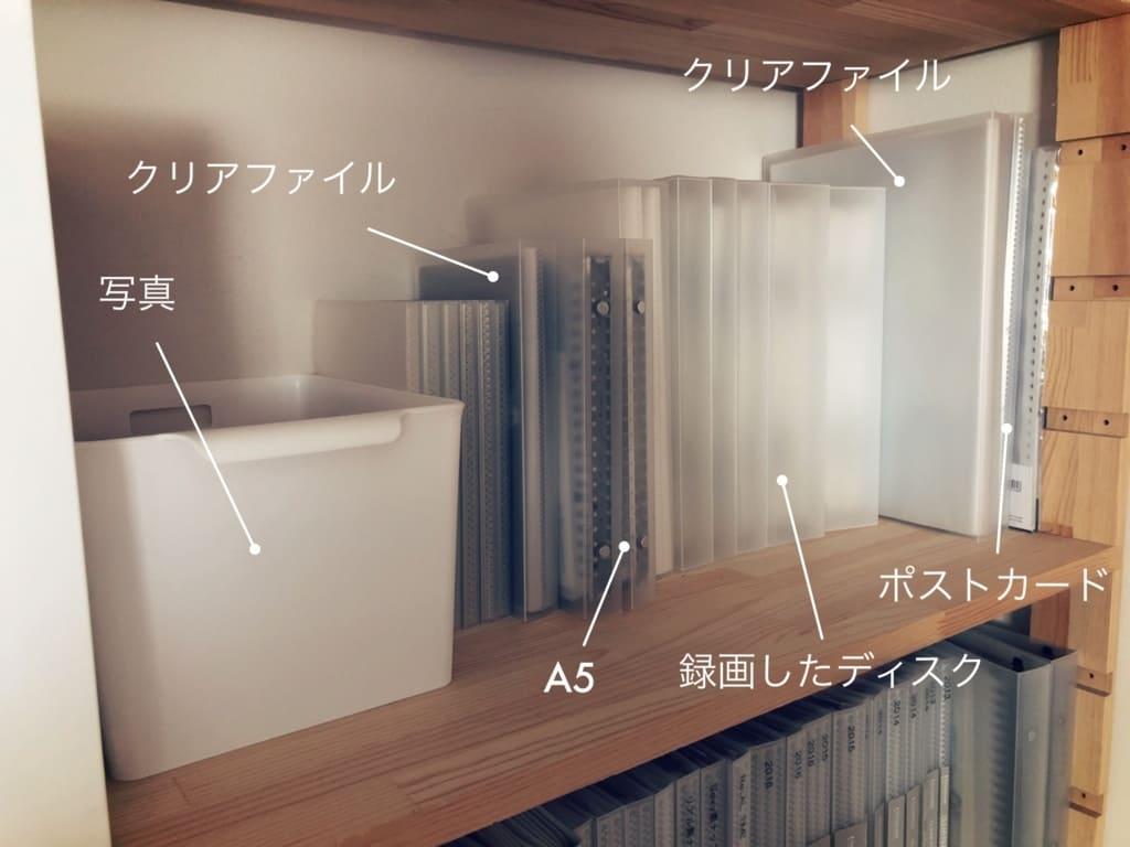 ジャニヲタ収納術・フォトアルバムは白いボックスに入れて棚にしまっています