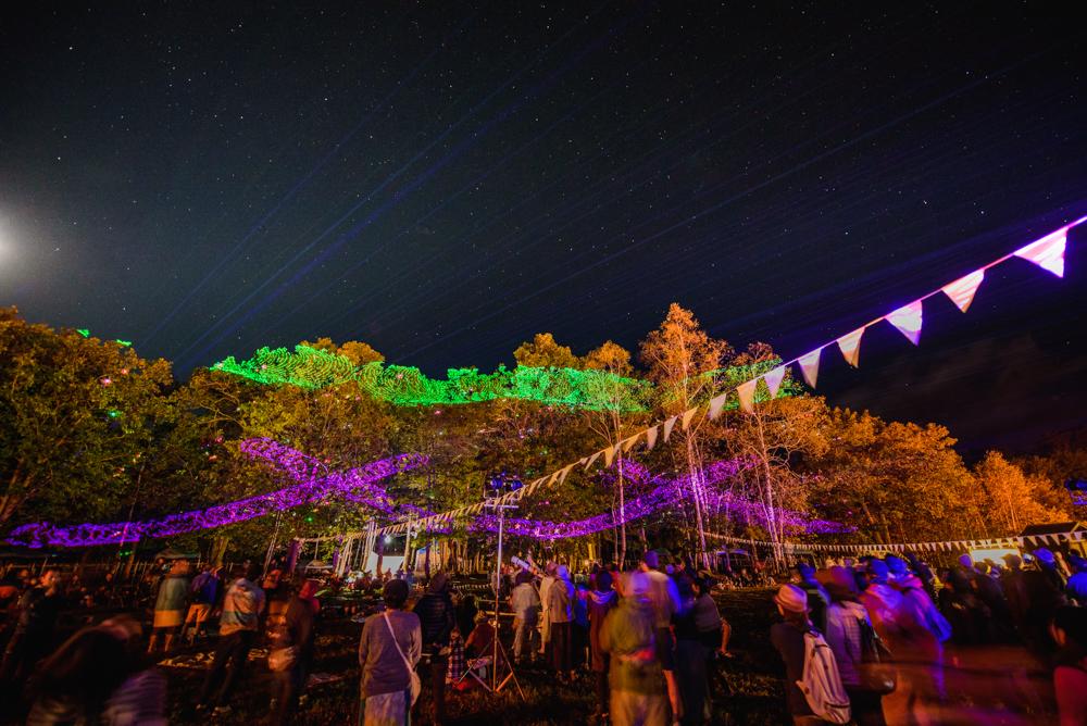 宇宙の森フェスの写真