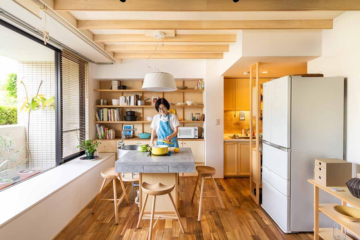 有賀薫さんのキッチン