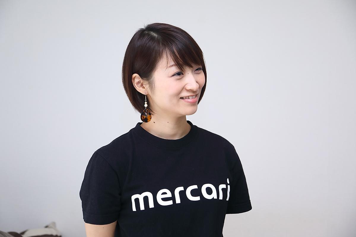 メルカリではブランディングチームに所属されている池田早紀さん