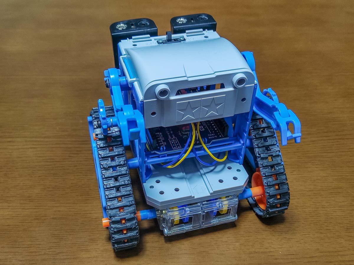カムプログラムロボットの改造