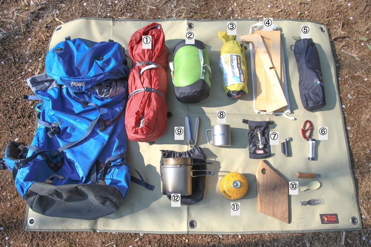 ソロキャンをするなら揃えておきたいキャンプ道具