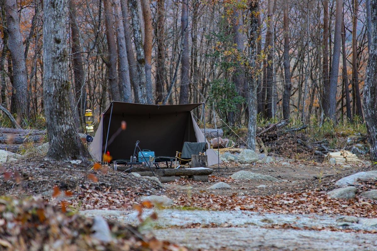 慣れてきたら好きなキャンプ場でソロキャンをしてみよう
