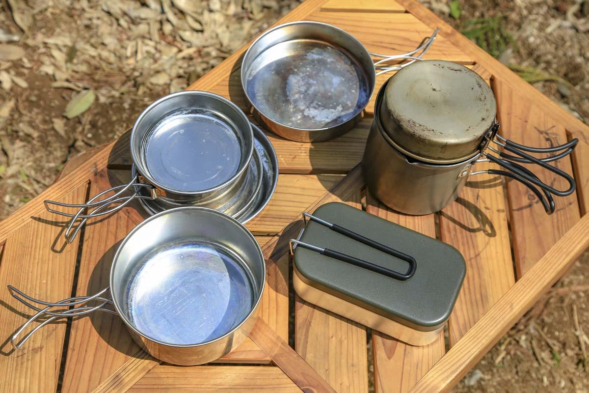 ソロキャンプの必須アイテム・調理器具(クッカー)