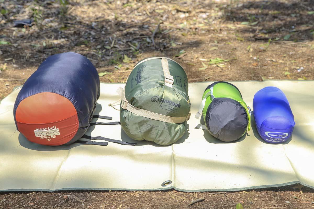 キャンプのマストアイテム・寝袋選びのポイント