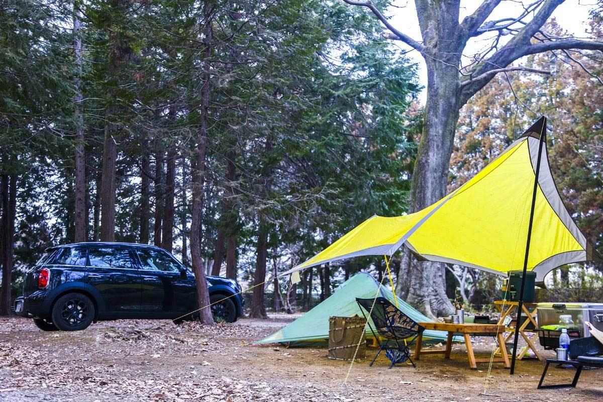 車でのソロキャンプ。一番スタンダードな交通手段