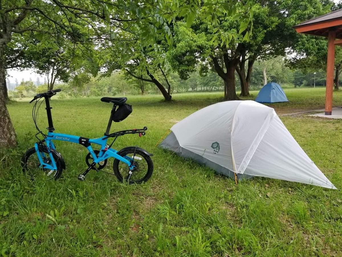 ソロキャンプの楽しみ方、自転車